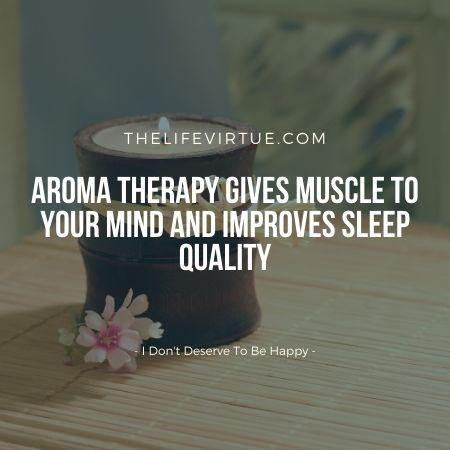 Aromatherapy improves brain function.