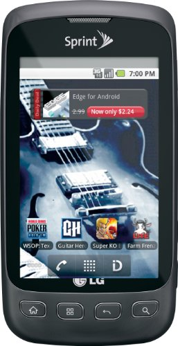 LG Optimus S Android phone, grey (Sprint)