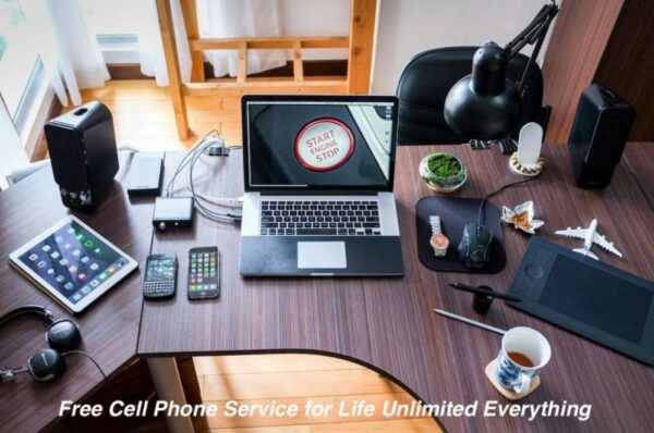 Lifetime free mobile service Unlimited All