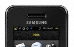 Samsung Instinct SPH-M800 phone, black (Sprint)