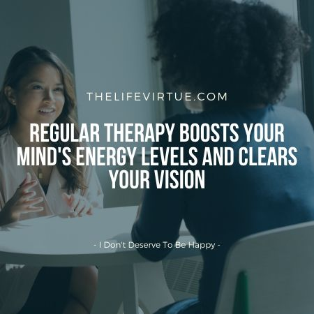 Therapy can help combat stress