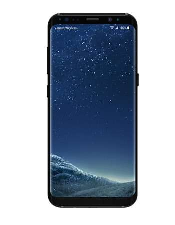 Verizon Telephone transactions for existing customers - Samsung Galaxy S8