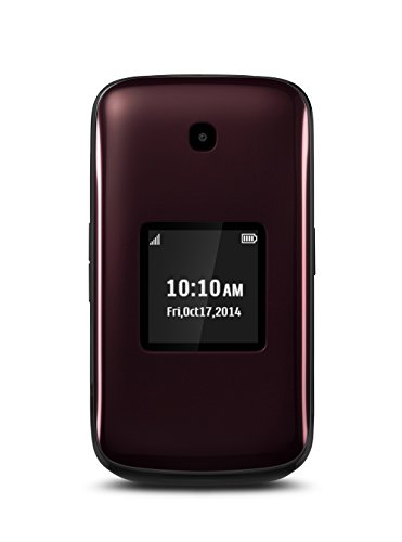 Virgin Mobile Paylo Phones - Alcatel OneTouch Retro, reddish black (Sprint)