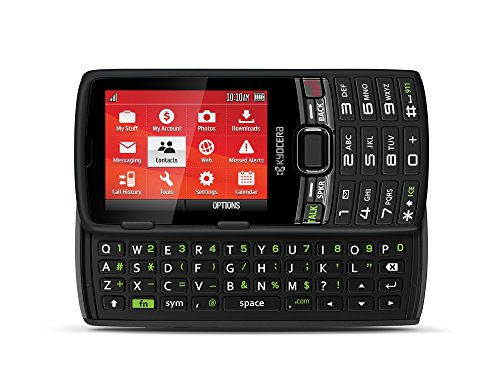 Virgin Mobile Paylo Phones - Kyocera Contact Black (Virgin Mobile)