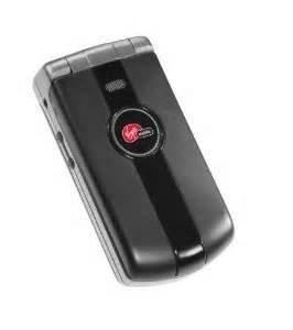 Virgin Mobile Paylo Phones - Kyocera MARBL K127 - black