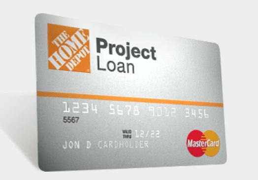 www.homedepot.com/applynow with an identification number